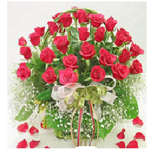yellow rose basket delivery in Hyderabad India