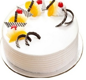 pine apple birthday cake delivery Hyderabad India