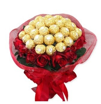 Ferrero Rocher Bouquets delivery in Hyderabad