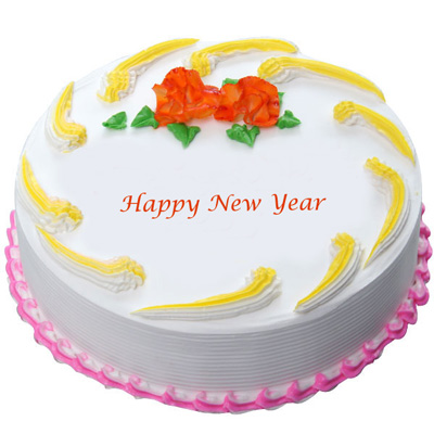 send new year cake  delivery in Hyderabad